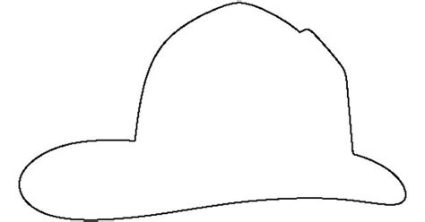 fireman hat template fireman hat pattern use the printable outline for crafts creating stencils scrapbooking and