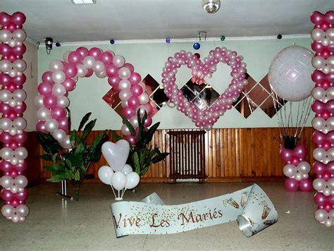 decoration de ballon pour mariage decoration salle mariage deco de table decoration ballon noeud pour voiture de la mariee