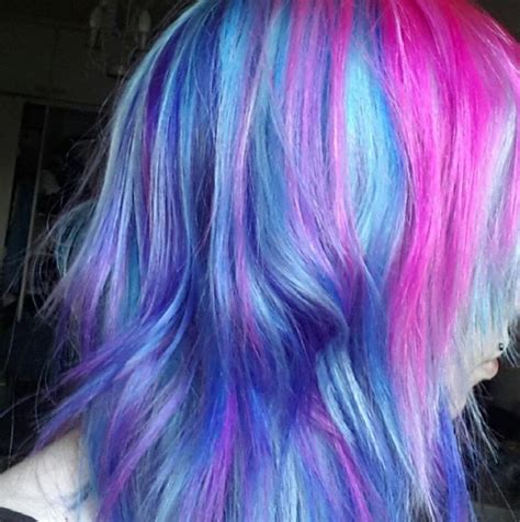 Galaxy Hair Color Ideas Popsugar Beauty Photo 15