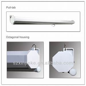 Low Price Manual Wall Or Ceiling Mounted Projector Screen