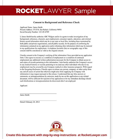 Criminal Background Check Companies Background Check Form Small Business Free Forms
