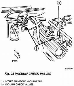Service Manual  Vacuum System Install 1998 Dodge Ram Van