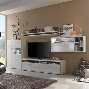 Wohnwand Weiß Hochglanz : grau hochglanz wohnwand preisvergleich die besten angebote online kaufen ~ Markanthonyermac.com Haus und Dekorationen