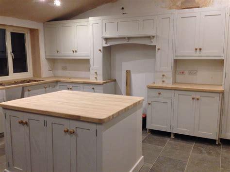 Kitchen Floor Units by Kitchen Work In Progress From Pineland Grey Limestone