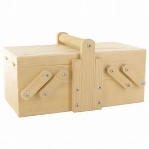 Petite Boite En Bois : petite boite ouvrage 20x10x8 5cm en bois brut d corer ~ Teatrodelosmanantiales.com Idées de Décoration
