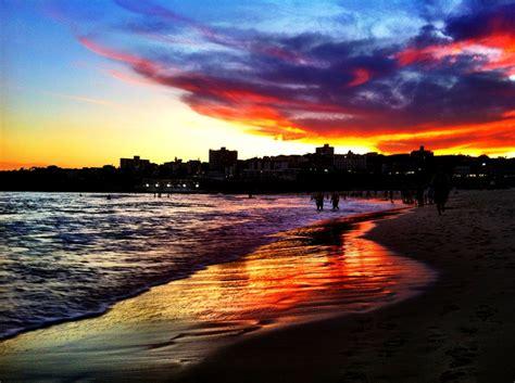 Amazing Sunset At Bondi Beach By Minji Hur Bondi Beach