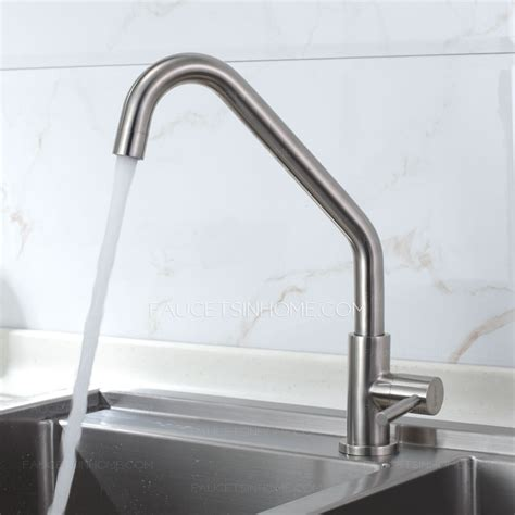 Inexpensive Kitchen Faucets by Inexpensive Single Rotatable Kitchen Faucets Nickel