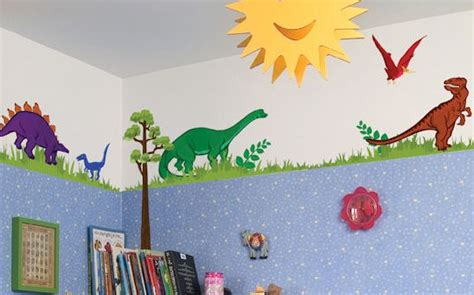 Dinosaur Theme Boys Bedroom-dino Themed Room & Wall Decals