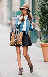 Tenue Printemps Femme : la jupe simili cuir une tendance top pour le printemps et l 39 t ~ Melissatoandfro.com Idées de Décoration