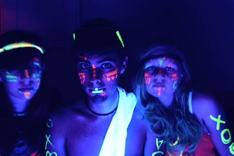 black light ideas glow in the volley youth on
