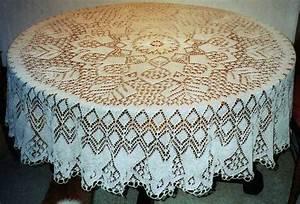 19 Best Images About Knit U2661tablecloths On Pinterest
