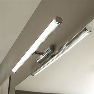 applique simplis led 1 x 7 w led integree blanc froid With carrelage adhesif salle de bain avec lampe led garage