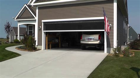 screen for garage door install garage door screens retractable door