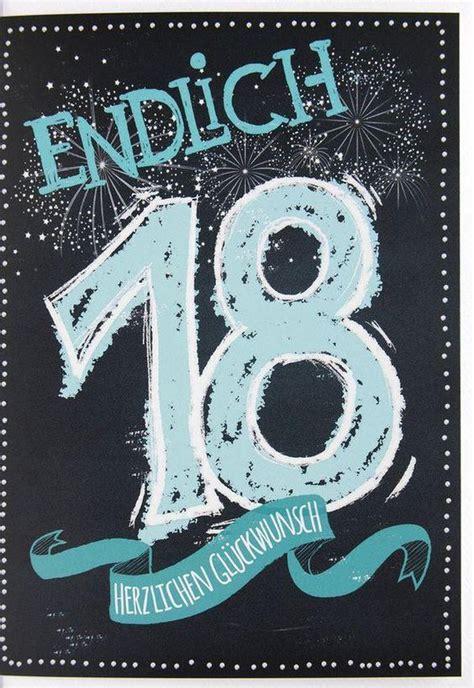 spr 252 che zum 18 geburtstag freche und lustige gratulieren