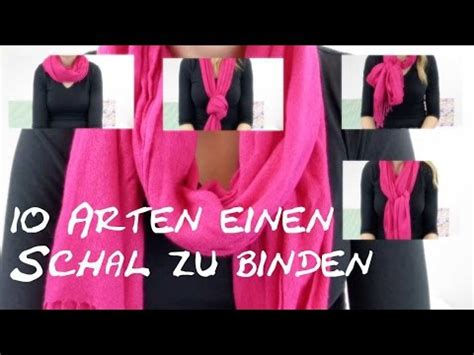 10 arten einen schal zu binden diy how to 10 ways to wear a scarf in 5 min