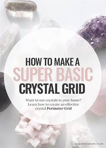 How To Basic : how to make a super basic crystal grid rogue wood supply ~ Buech-reservation.com Haus und Dekorationen