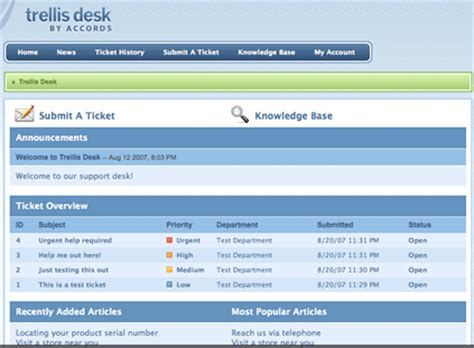 Free Help Desk Software Comparison by Trellis Desk Free Help Desk Software