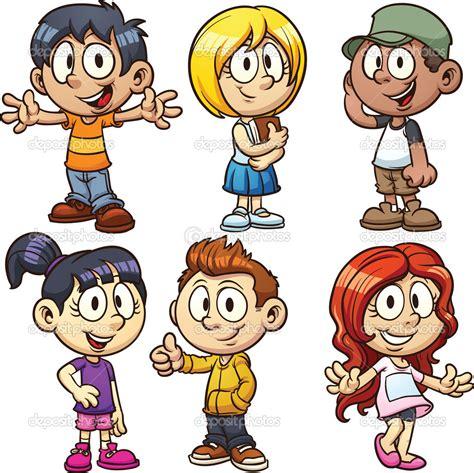 cartoon kids clipart png  cliparts