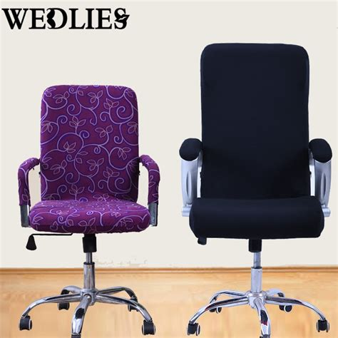office chair cover s m l spandex office chair covers slipcover armrest cover 25750