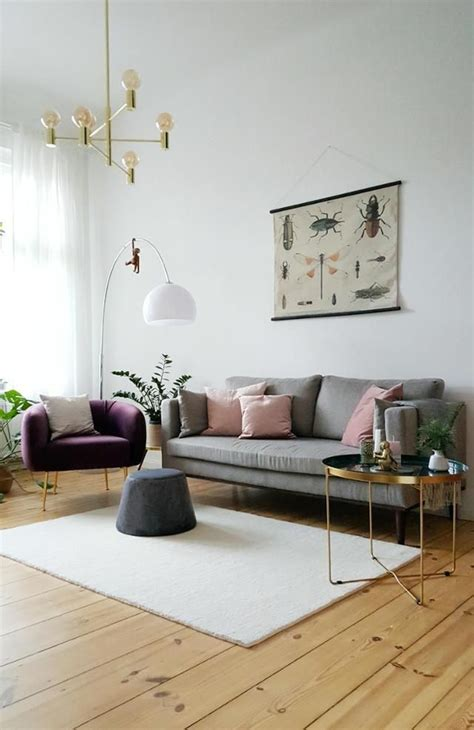 Wohnzimmer Skandinavisch Einrichten by Skandinavisches Vintage Wohnzimmer In Hellen Farben