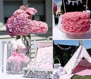 Kara's Party Ideas Fairy Girl Pink 1st Birthday Party ...