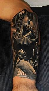 35 Batman Tattoo designs for Men and Women