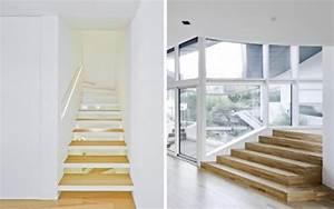 Escalier Quart Tournant Haut Droit : escalier moderne 115 mod les design tournants ou droits ~ Dailycaller-alerts.com Idées de Décoration