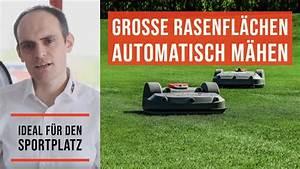 Mähroboter Für Große Flächen : echo robotics profi m hroboter f r gro fl chen youtube ~ A.2002-acura-tl-radio.info Haus und Dekorationen