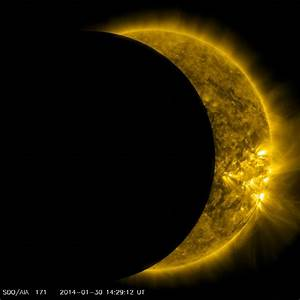 NASA Solar Eclipse 2014 - Pics about space