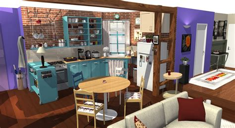 television cuisine tv apartment in 3d homebyme
