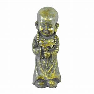 Buddha Figuren Deko : deko figur buddha 32cm buddha mit blume 11 99 der daro ~ Indierocktalk.com Haus und Dekorationen