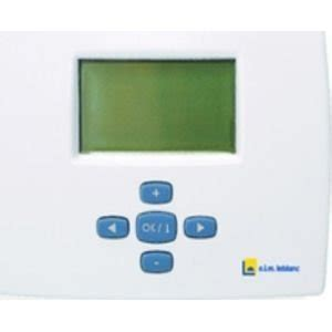 thermostat cuisine thermostat hebdomadaire leblanc trl7 26 amazon fr