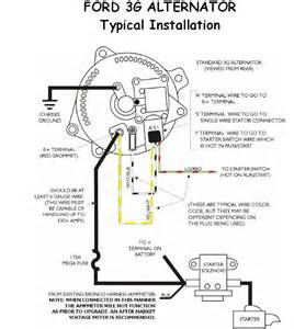 similiar ford 4g alternator wiring keywords ford 2g alternator wiring diagram also ford 3g alternator wiring