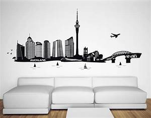 Auckland city silhouette your decal nz designer