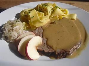 Schweinebraten In Dunkelbiersoße : schweinebraten in senf sahne sauce ~ Lizthompson.info Haus und Dekorationen