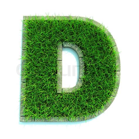 and numbers letter a made of grass stock beautiful letters made of grass and surrounded with