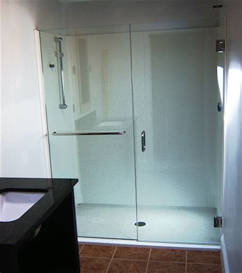 Hinged Glass Shower Doors by Frameless Shower Door Faqs And Facts