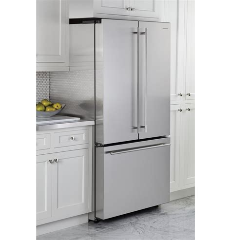 zweeshss monogram energy star  cu ft counter depth french door refrigerator