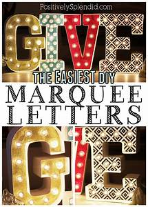 easy diy marquee letters With michaels marquee letters