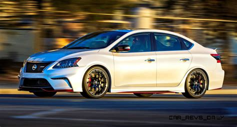 2014 Nissan Sentra NISMO Concept + Altima NISMO Rendering