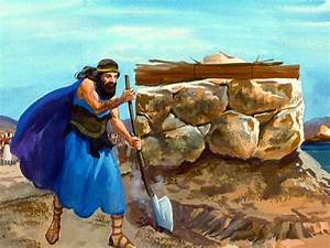 Elijah Has A Contest With The Prophets Of Baal On Mount