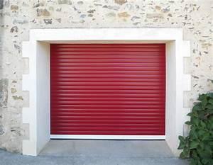 la porte de garage enroulable sur mesure With porte de garage enroulable et porte d intérieur isolante thermique