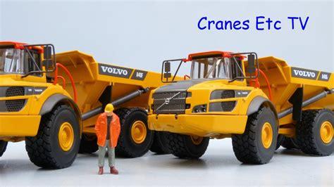 motorart volvo af  ag articulated haulers  cranes