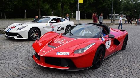 Tickets start at just 85p and there's a whole range of makes and models to choose from. Ferrari Cavalcade 2018 - 2: LaFerrari, F12 TDF, SA Aperta, 812 Superfast, Portofino... HD - YouTube