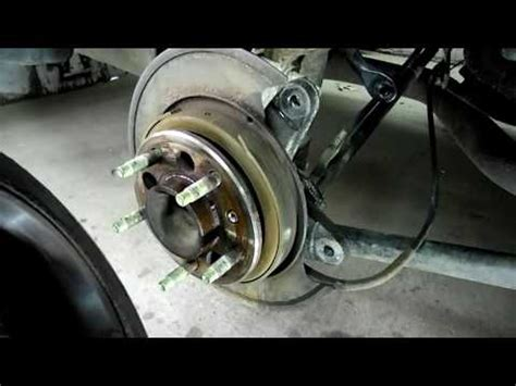 Boat Trailer Wheel Bearing Replacement Cost by How To Replace The Rear Wheel Bearings On A 2003 Buick
