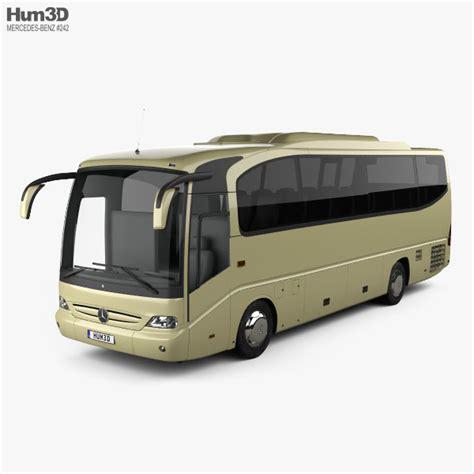 Passenger vehicles, vans, trucks and buses. Mercedes-Benz Tourino (O510) Bus 2006 3D model - Vehicles on Hum3D