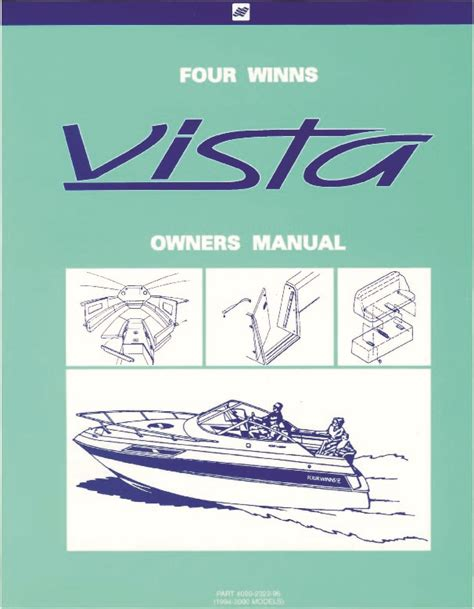 Boat Service Manuals by 1994 2000 Four Winns Vista 238 258 278 Boat Service Owners