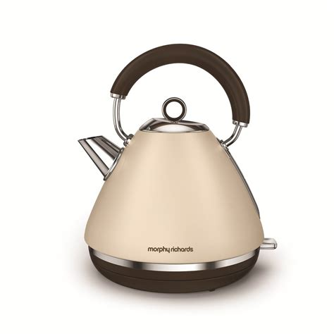 morphy richards kitchen accessories special edition accents sand traditional kettle morphy 7854