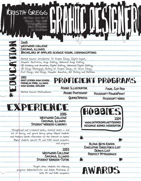 give a touch of creativity to your resume dzinepress