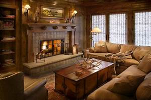 10, Gorgeous, Cabin, Inspired, Living, Room, Ideas
